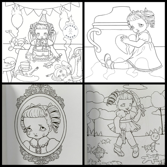 Hot Topic Other Melanie Martinez Crybaby Coloring Book Poshmark